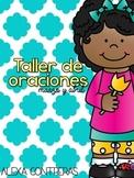 Taller de Oraciones {Marzo y Abril} Let's fix sentences in Spanish
