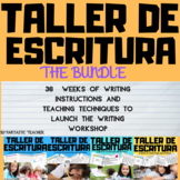 Taller de escritura :Writing Bundle Complete in Spanish unit 1-4
