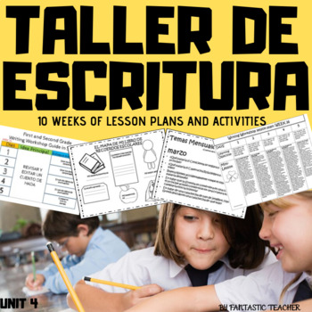Taller de escritura/ Writing workshop in Spanish unit 4 (2019)