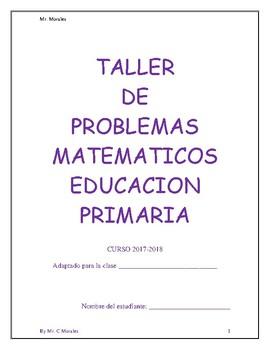 Taller de problemas matematicos