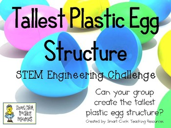 Tallest Plastic Egg Structure - STEM Engineering Challenge