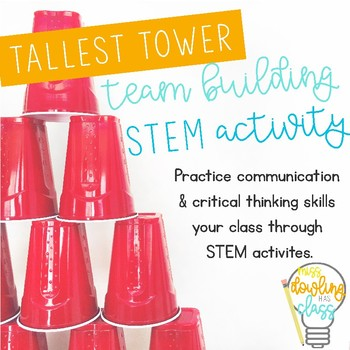 Tallest Tower STEM Team Building Challenge