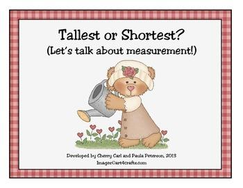 Tallest or Shortest? Valentine's Day Measuring Activity