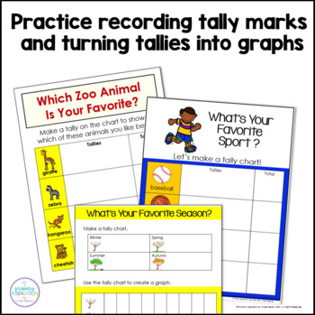 Tally Marks & Graphs for Collecting Class Data