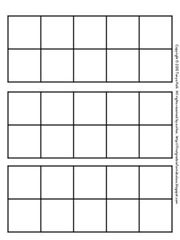 {FREEBIE} Tallies and Tens Frames for Calendar