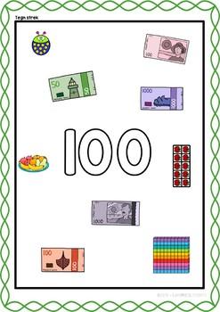 Tallinnlæring - tallet 100