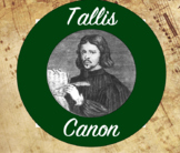 Tallis Canon for Intermediate Band (Concert Bb)