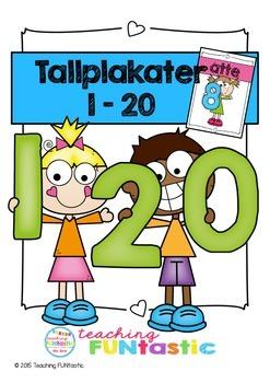 Tallplakater 0-20 (BM & NN)