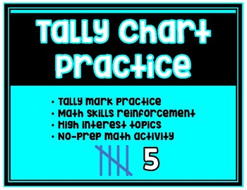 Tally Chart Practice