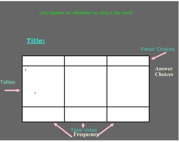 Tally Chart Smartboard Activity