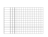 Tally Chart for IEP Data or Behavior Collection