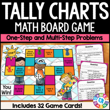 Tally Charts Activity: Solve Problems on Tally Charts Game