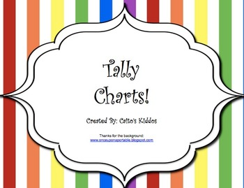 Tally Charts and Bar Graphs