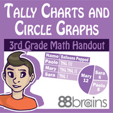 Tally Charts and Circle Graphs pgs. 33 - 36 (CCSS)