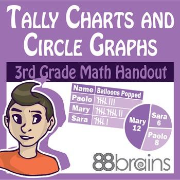 Tally Charts and Circle Graphs pgs. 33 - 36 (CCSS)