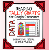 Tally Charts for Google Classroom | Digital Slides | Dista