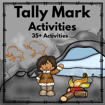 Kindergarten Tally Daily Charts and Tally Math Activities