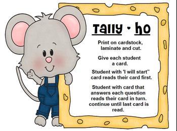 Tally Ho I Have, Who Has?
