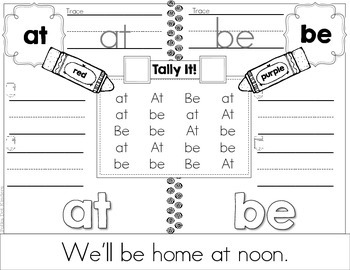 Tally It! FRY Word Edition