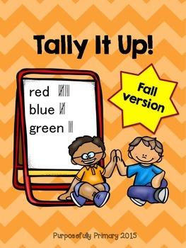 Tally It Up!  Fall