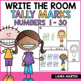 Write the Room-Tally Marks