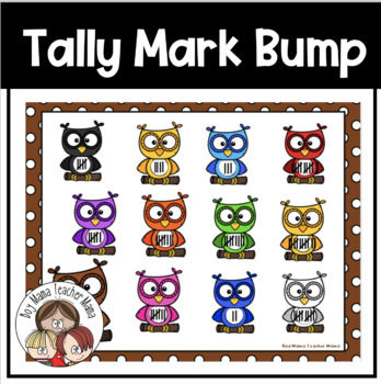 Tally Mark Addition Bump Game