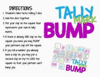 Tally Mark BUMP GAME