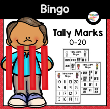 Tally Mark Bingo to 20