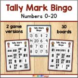 Tally Mark Bingo to 20