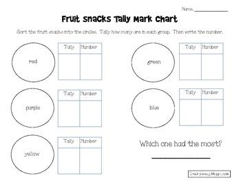 Tally Mark Chart