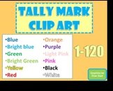 Tally Mark Clip Art JUMBO PACK 1,440 images Math Numbers 1-120 Common Core