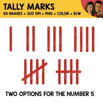 Tally Mark Clipart