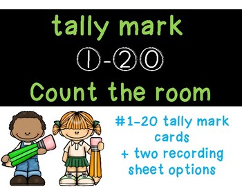 Tally Mark Count the Room