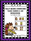 Tally Mark Counting Hedgehog
