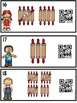 Tally Mark Counting Little Chefs (QR Code Ready)