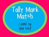 Tally Mark Match - Tallies - Flash cards - Common Core Math