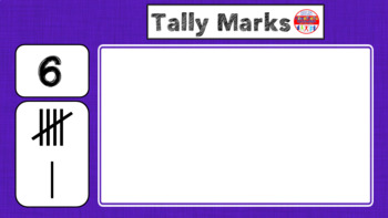 Tally Mark Matching Game 0-100