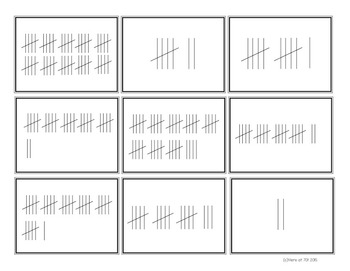 Tally Mark Matching Memory Game