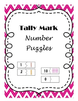 Tally Mark Number Puzzles