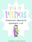 Tally Mark Pennant Classroom Decor