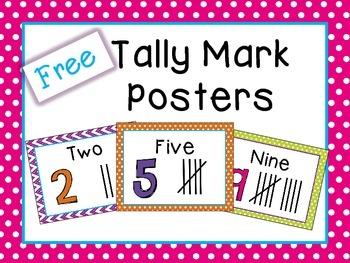 Tally Mark Poster