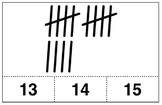 Tally Mark Poster & Clip Cards