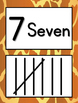 Tally Mark Posters to 10 - Animal Print