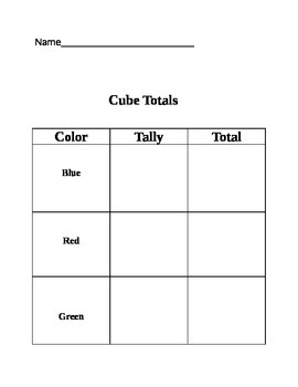 Tally Mark Practice - Record and Count Tally Marks (Hands-On Activity)