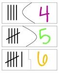 Tally Mark Puzzle 0-20