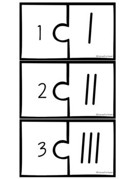 Tally Mark Puzzles 1-20