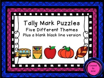 Tally Mark Puzzles Bundle