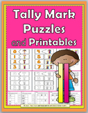 Tally Marks Math Self-Correcting Puzzles and Worksheets