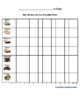 Tally Mark Table & Bar Graph: Favorite Pies