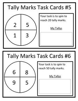 Tally Mark Task Cards